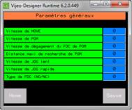 exemple écran paramètres généraux retrofit